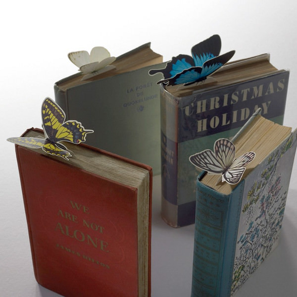 Hotel Butterfly Bookmarks